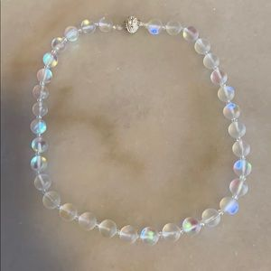 Jewelry - Mermaid Beads Crystal Collar Magnetic Necklace